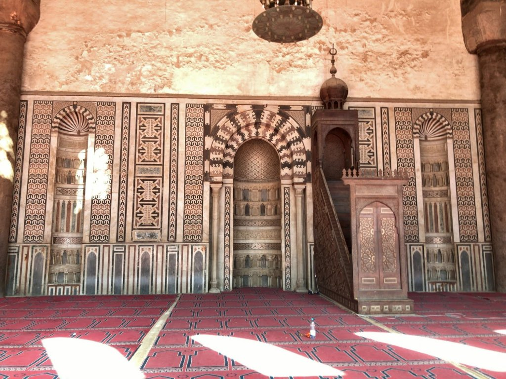 モスク内の一つひとつの模様