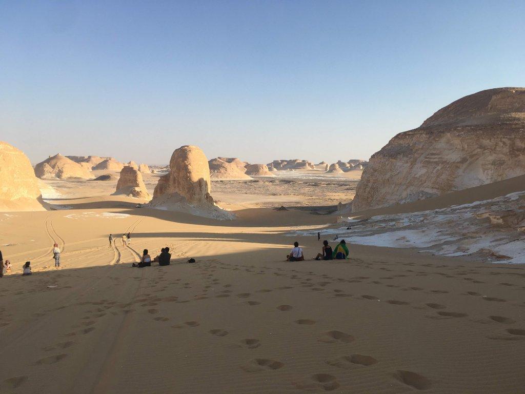 歩ける砂漠