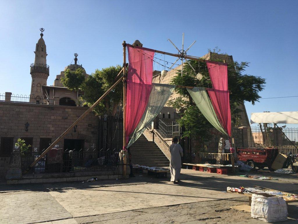 モスクの入り口