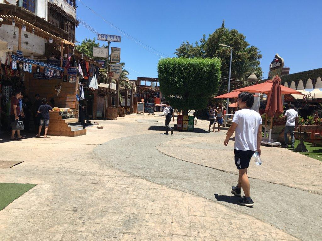 ダハブの町
