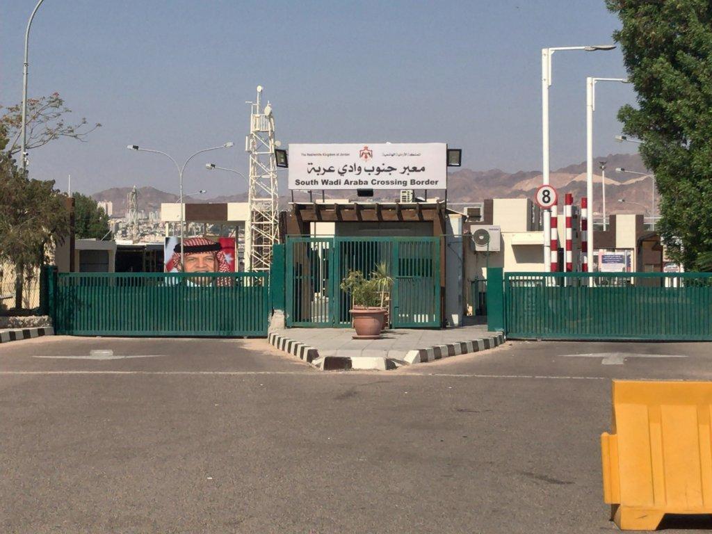 ヨルダン国境