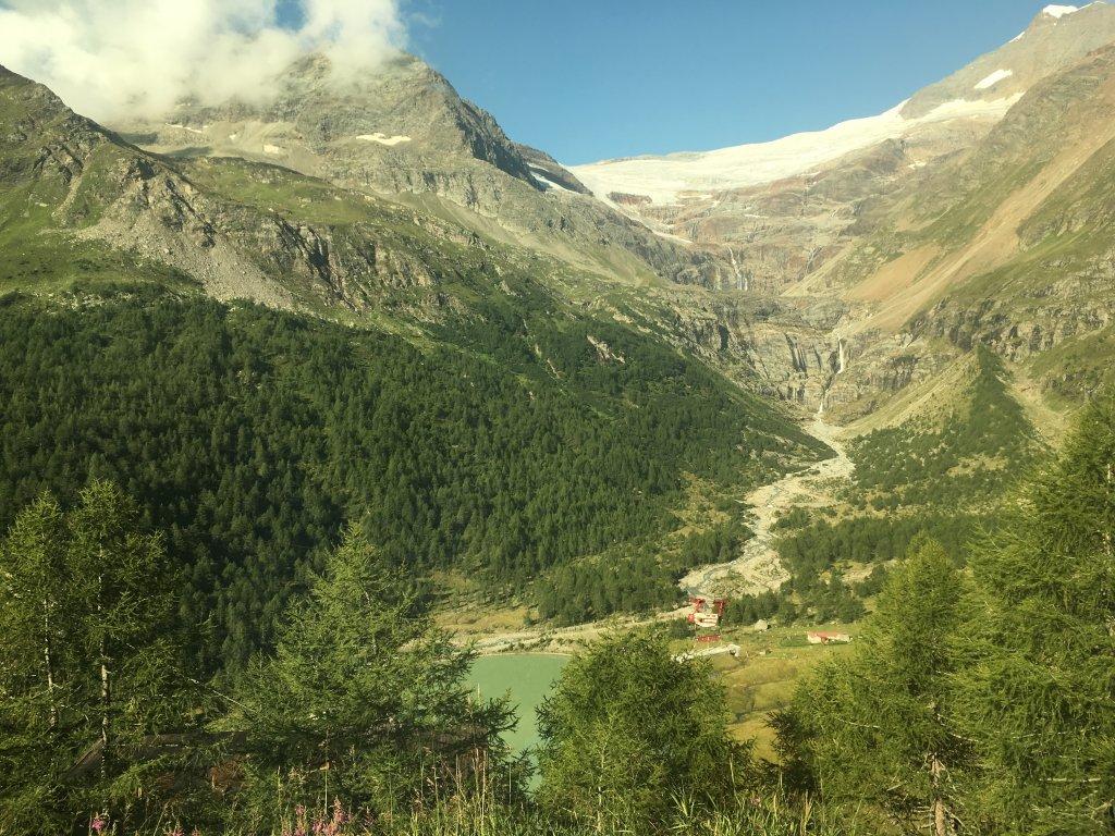 スイスの山
