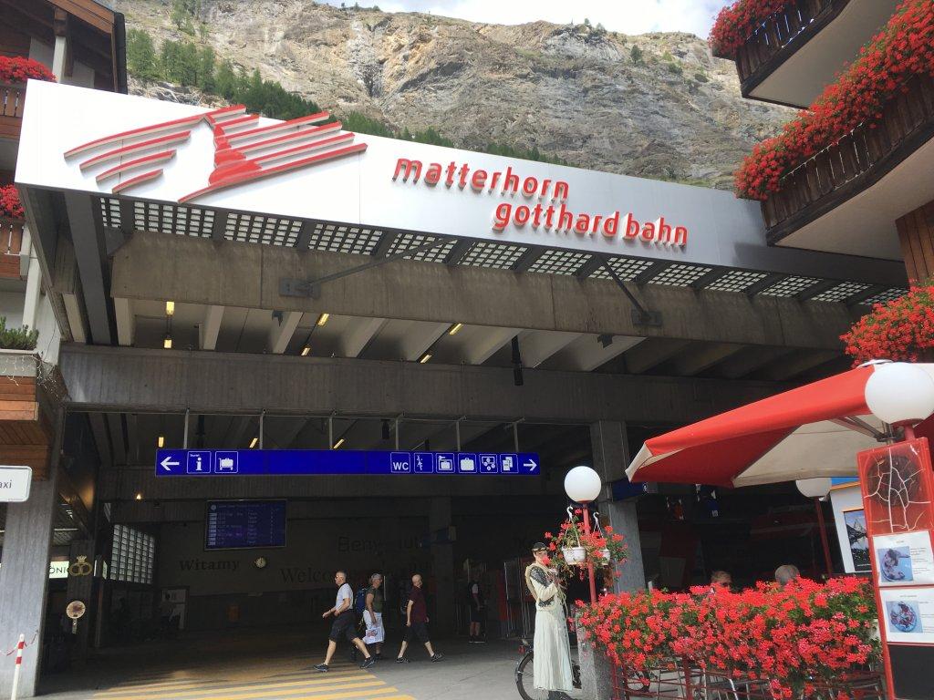 ツェルマットの駅