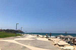 テルアビブの海