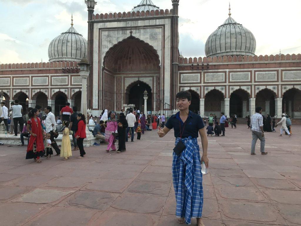インドのモスク