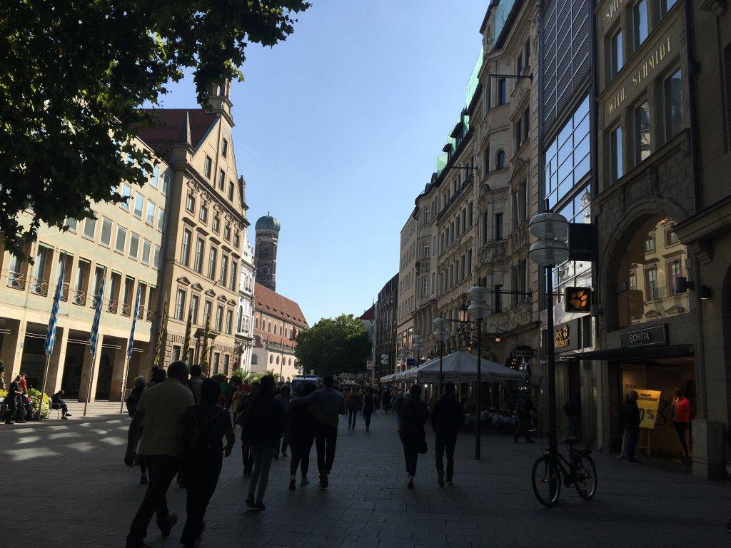 ミュンヘンの街