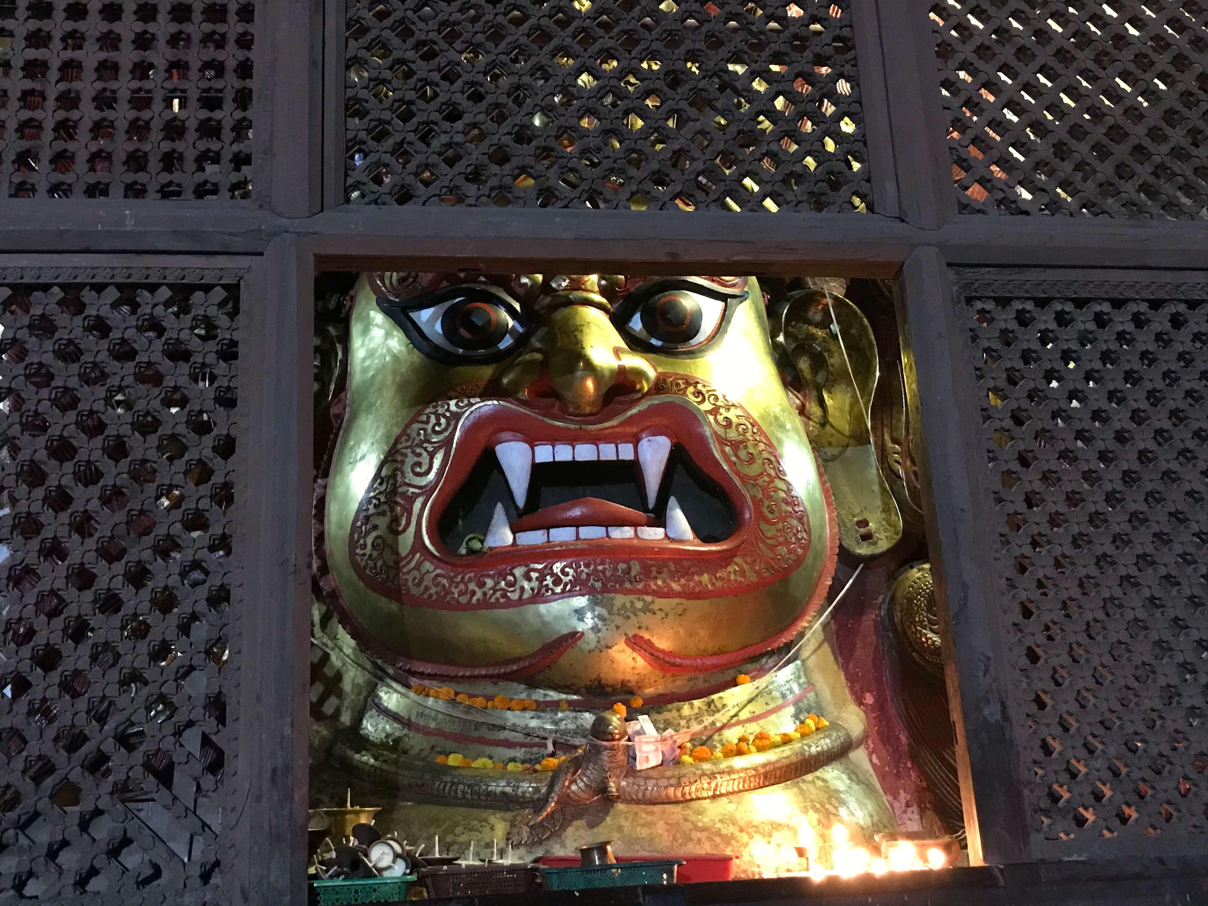 ダルバール広場のヒンドゥー教の神様