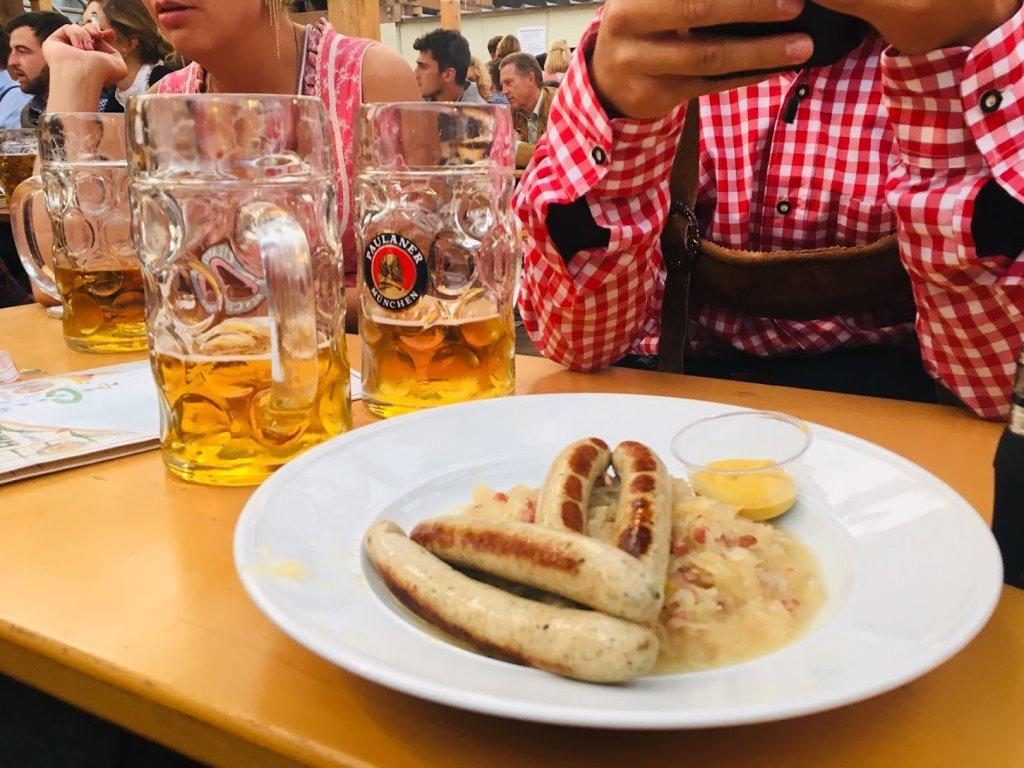 ドイツのソーセージ