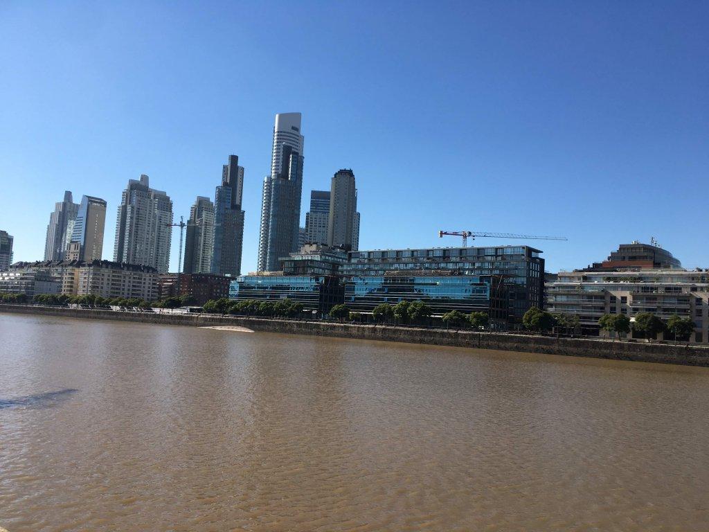 ブエノスアイレスの街
