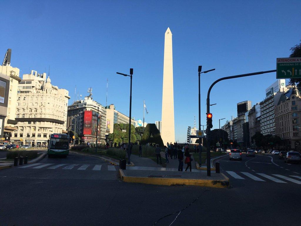 ブエノスアイレスの道路