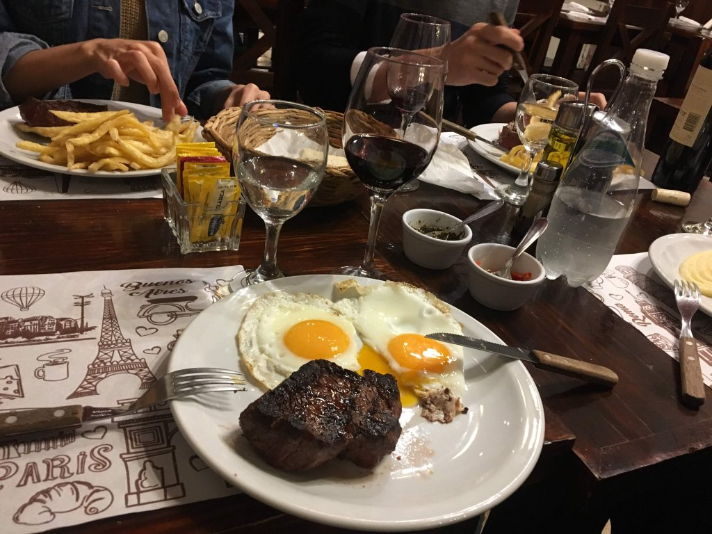 ブエノスアイレスの肉
